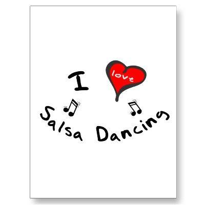 Salsa Dancing Gifts I Heart Salsa Dancing Postcard Zazzle Com Salsa Dancing Dance Gifts Dance Quotes