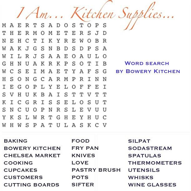 Day19 Iam I Am Kitchen Supplies Try This Fun Word