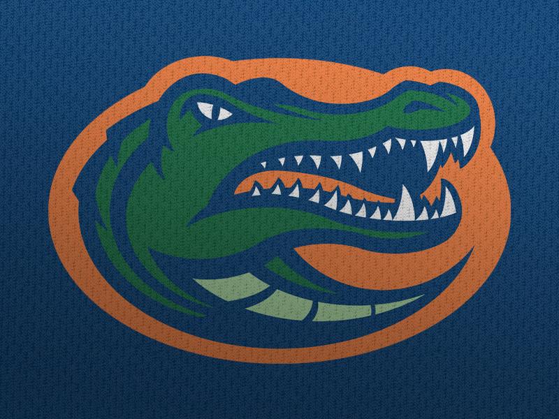 Gators Update With Neck Gator Logo Logo Concept Florida Gators Logo