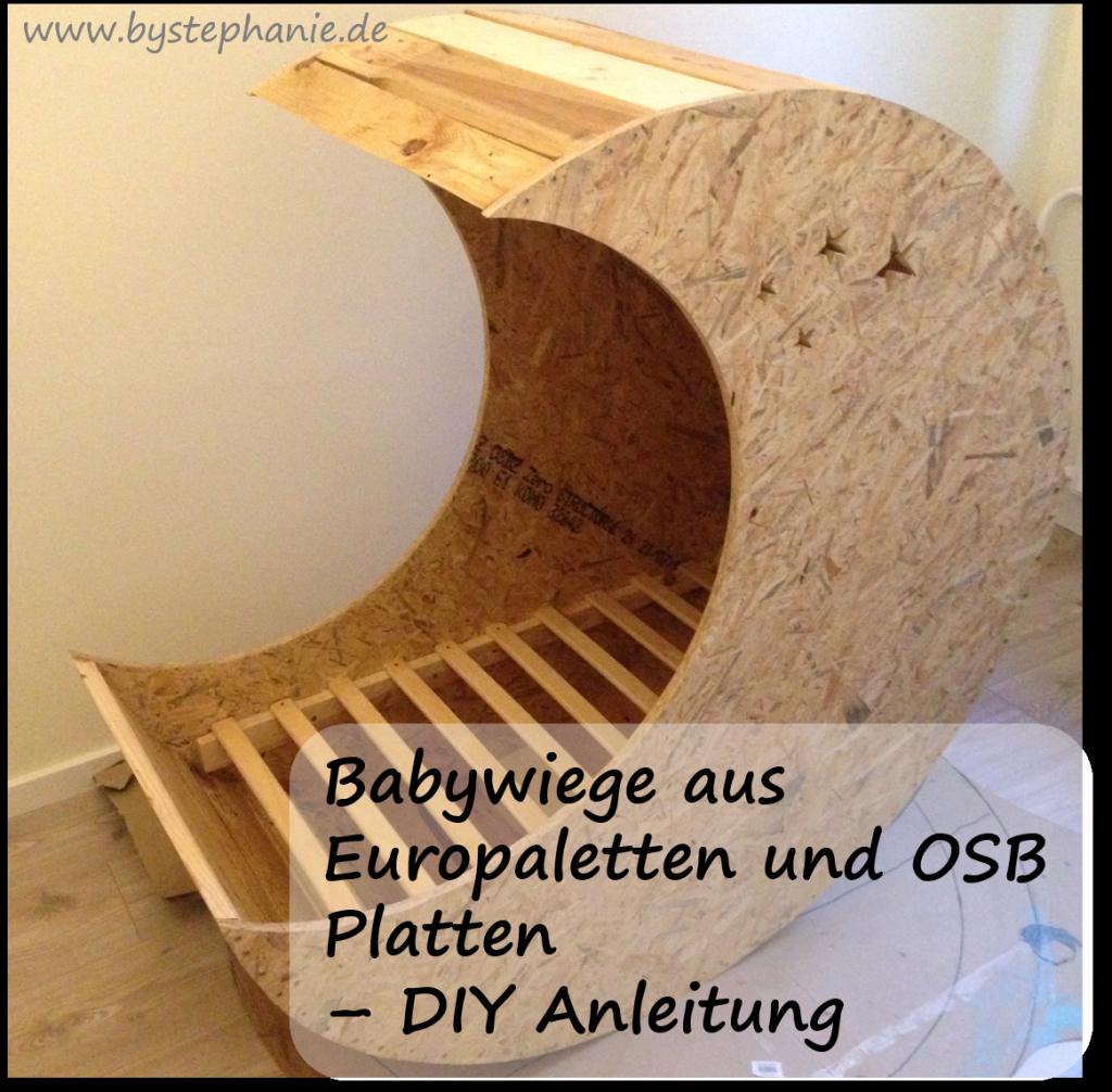 babywiege diy aus europaletten favoriten von pinterest. Black Bedroom Furniture Sets. Home Design Ideas