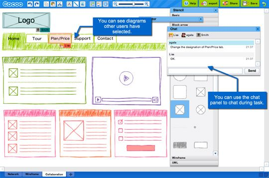 10 excellent tools for creating web design wireframes - Wireframe Design Tool Online
