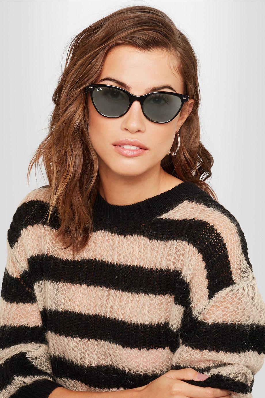 7006ff87e Ray-Ban | Cat-eye acetate sunglasses | NET-A-PORTER.COM | Eu uso ...