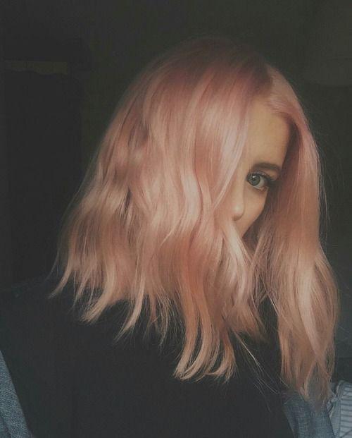 Unique Hairstyles Blorange Hair Peach Hair Dye My Hair
