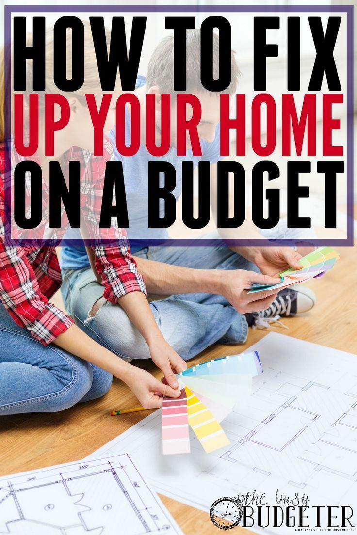 Budget Remodeling: How to Update a House Without Going Overboard. I needed this! We\u0027re trying to fix our house up a little but when we call around to get ...