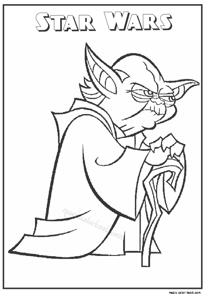 Star wars free printable coloring pages 06  Holiday  May the 4th