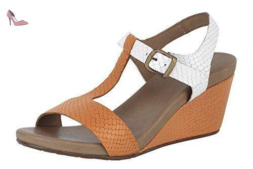 Best Connections Schnürer, Chaussures de ville à lacets pour femme - Marron - Taupe, 36 EU