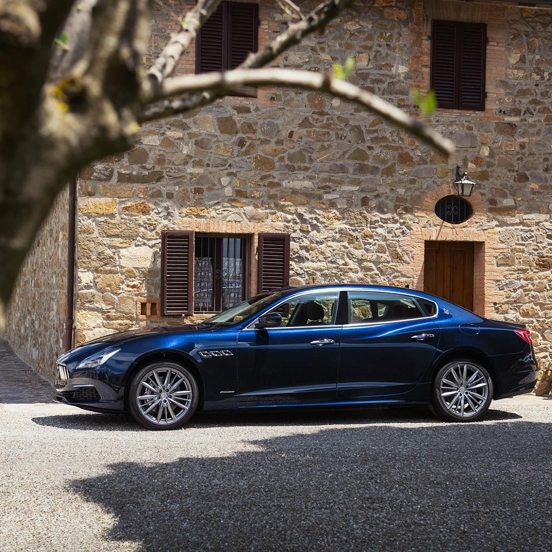 There Are Luxury Sedans And Then There Is The Maseratiquattroporte Granlusso Luxury Sedan Maserati
