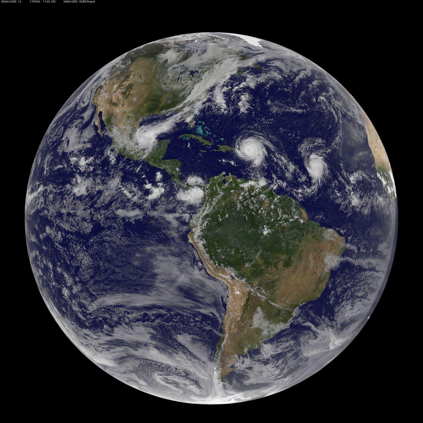 Hurricane Irma In Photos Space Views Of A Monster Storm Space Photos Weather Satellite Atmospheric Phenomenon
