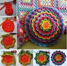 Crochet Scrunchies - African, Afgan, Japan, Brasil, Chinese #Crochet #Tejer #Pattern #crochetscrunchies