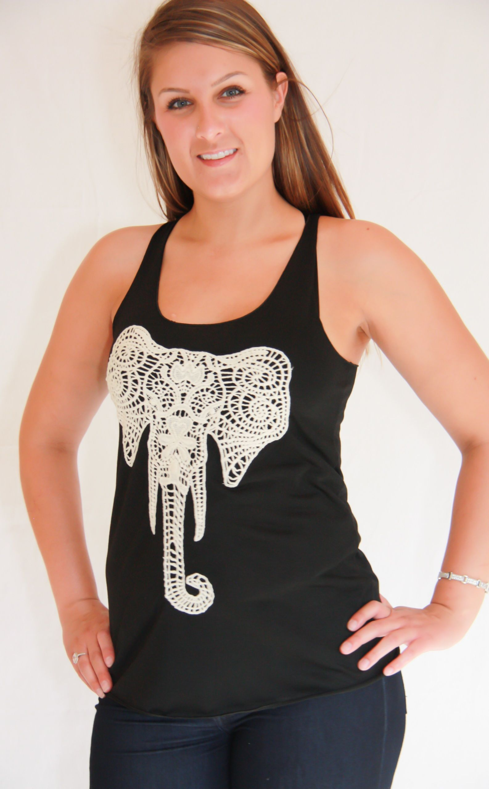 Crochet Elephant Tank Kevra Boutique* (With images