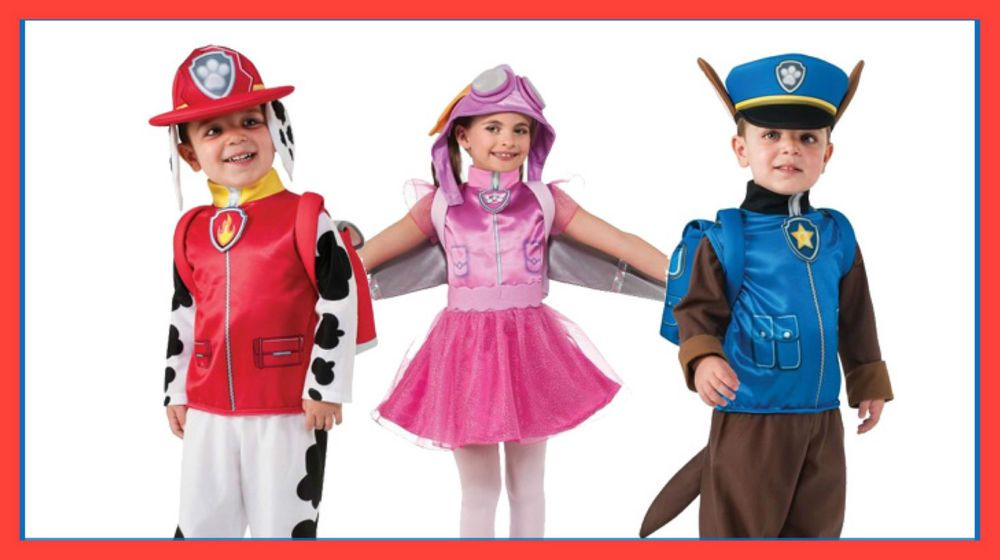 Details about Paw Patrol Costumes - Dress Up - Marshall