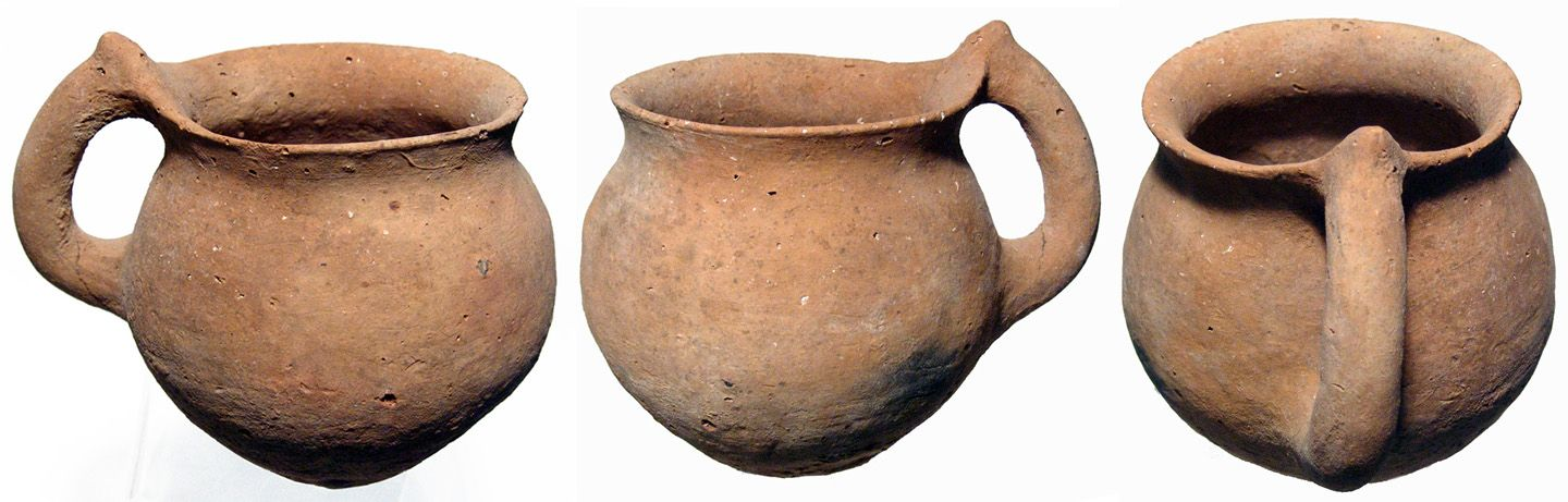 Old Testament-period Holy Land, late Bronze Age, c. 1200 ... C Cup Example