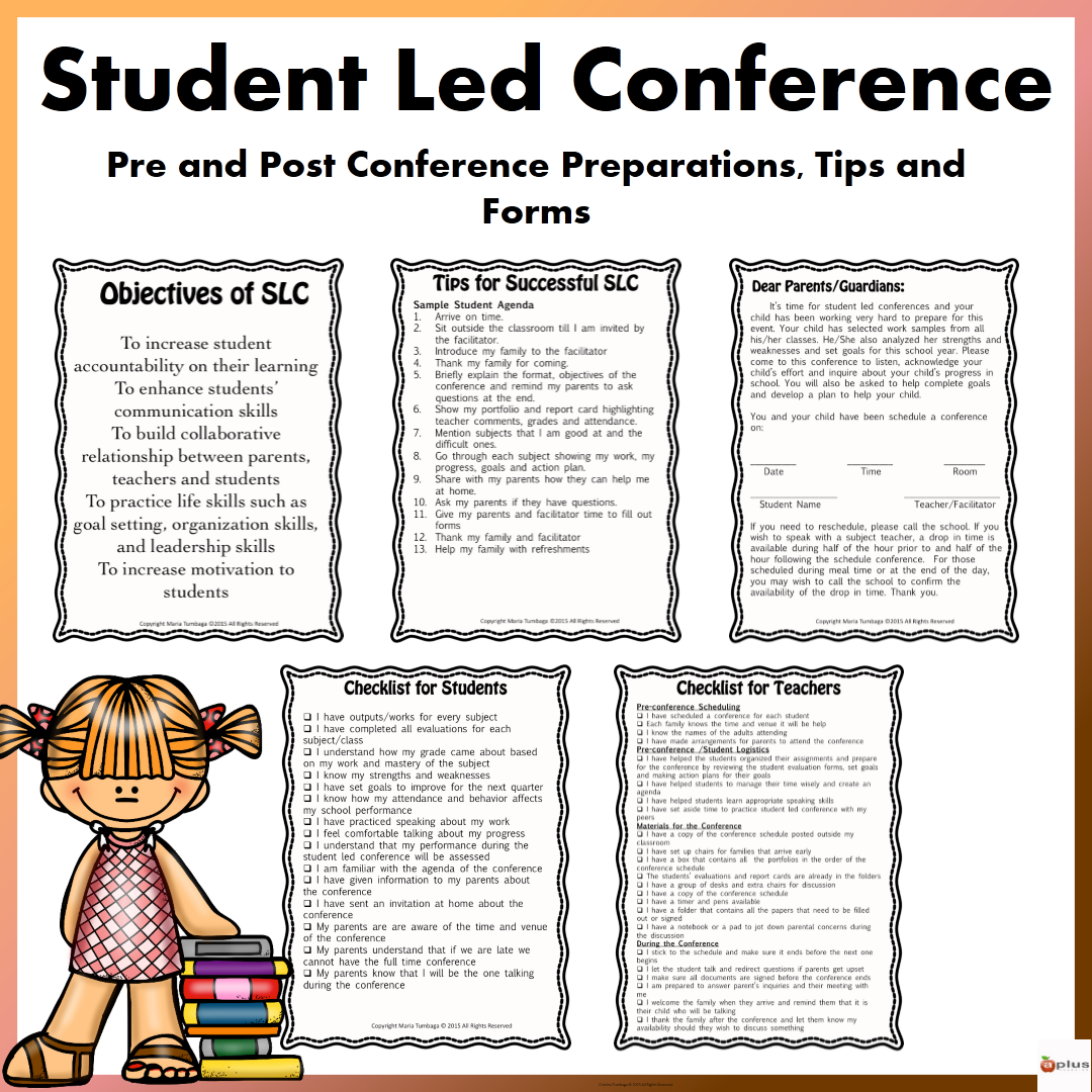 Student Led Conference (Pre and Post Conference Preparations ... on sports letter template, parent conference letter form, community service letter template, written warning letter template, mediation letter template, kindergarten letter template, reading letter template, writing letter template, restitution letter template, expulsion letter template, dismissal letter template, school letter template, parent invitation template, reprimand letter template, detention letter template, blank meeting minutes template, open house letter template,