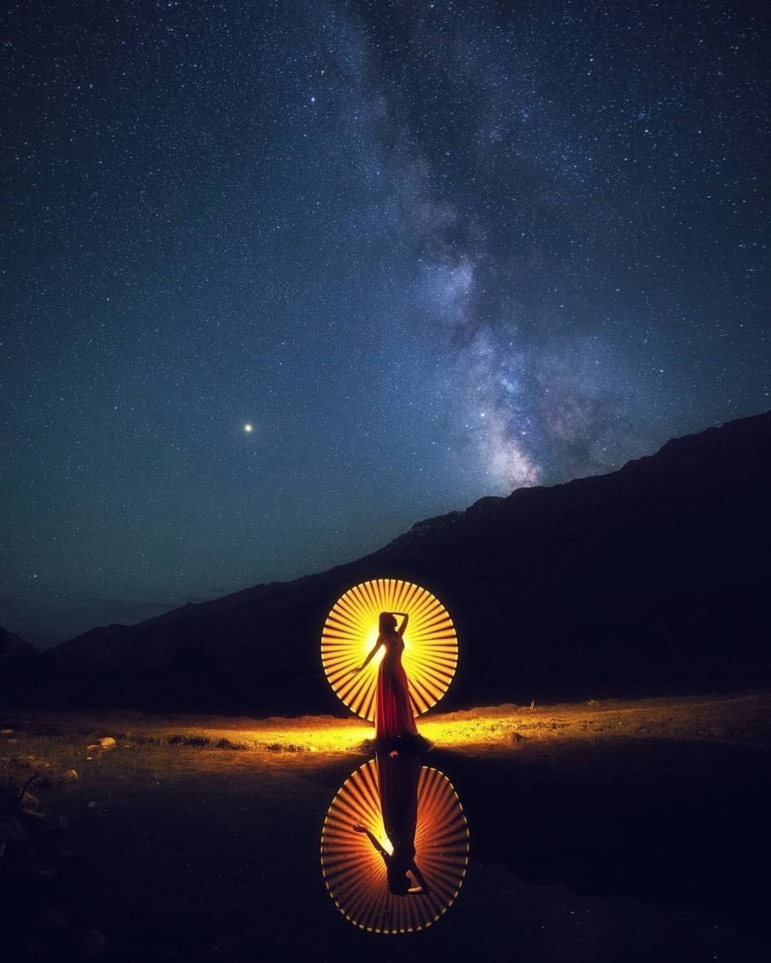 Lightpainting In Salt Lake City Touriste Photographie Artiste