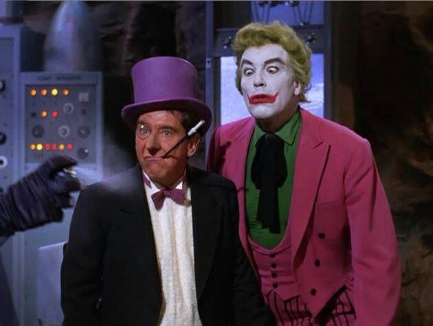 Penguin and Joker | Batman y robin, Batman, Robin