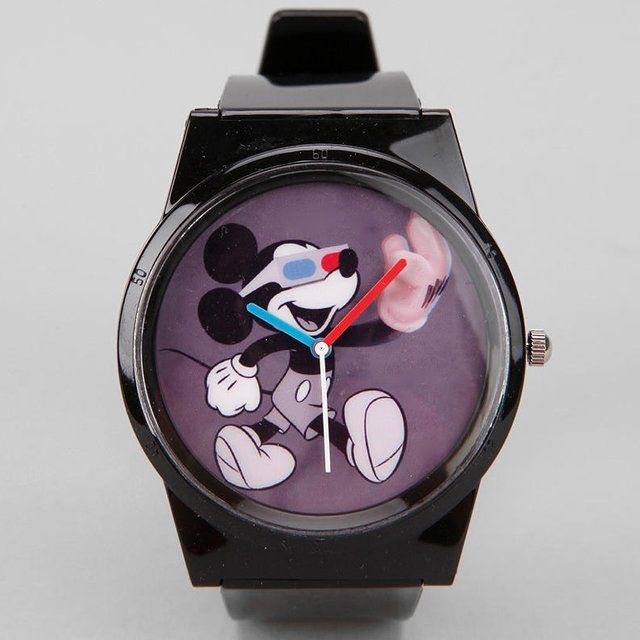 Mickey Mouse Analog Watch by Flud