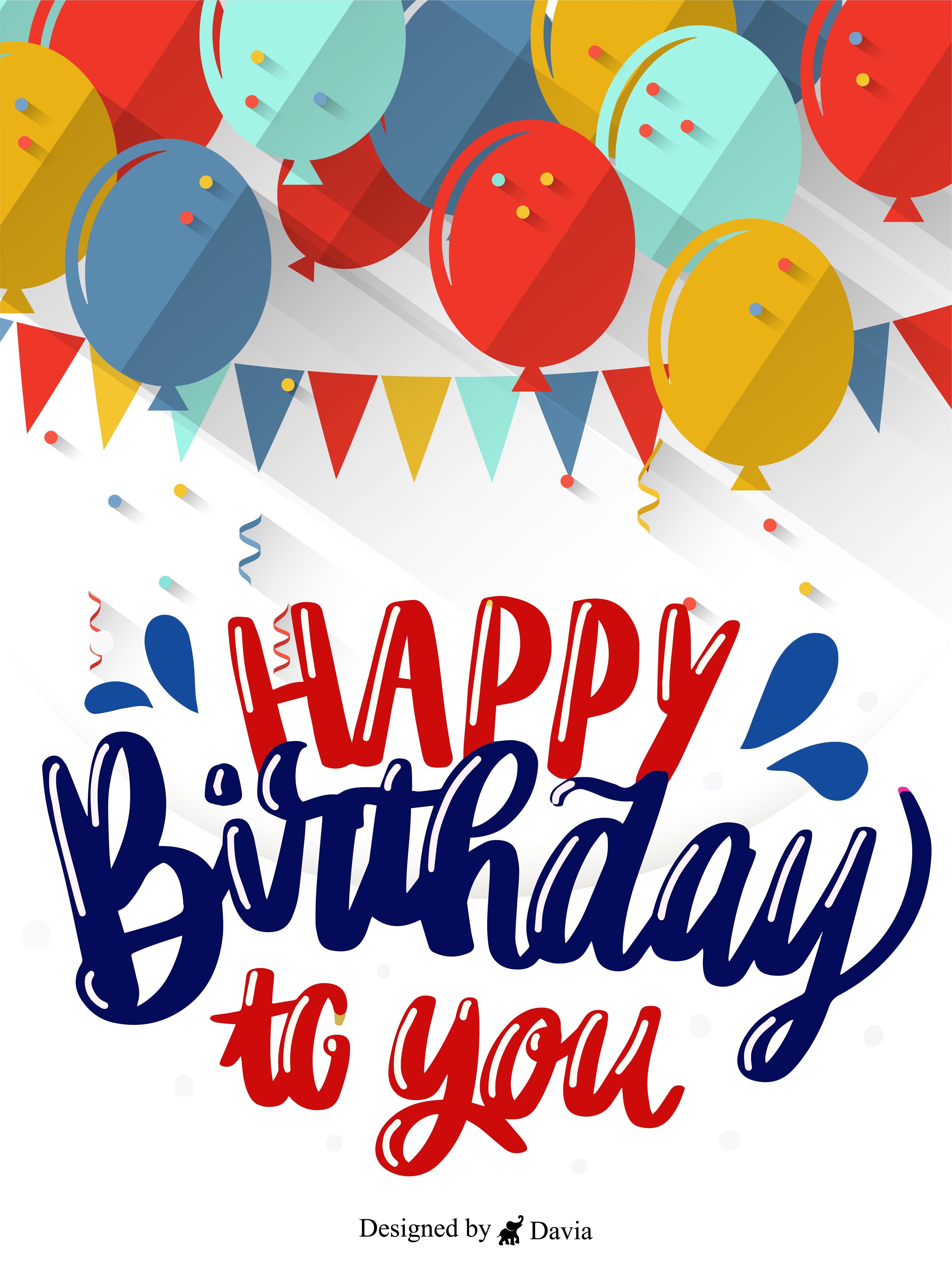 Happy Birthday To Him Cards Birthday Greeting Cards By Davia In 2021 Happy B Day Cards Happy Valentines Day Wishes Birthday Greetings