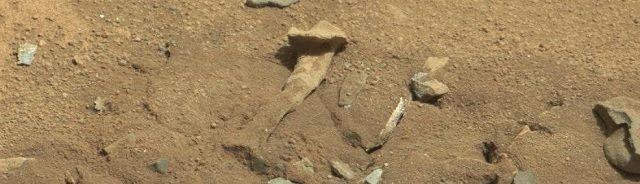Mysterieus 'dijbeen' gespot op Mars - http://www.ninefornews.nl/mysterieus-dijbeen-gespot-op-mars/