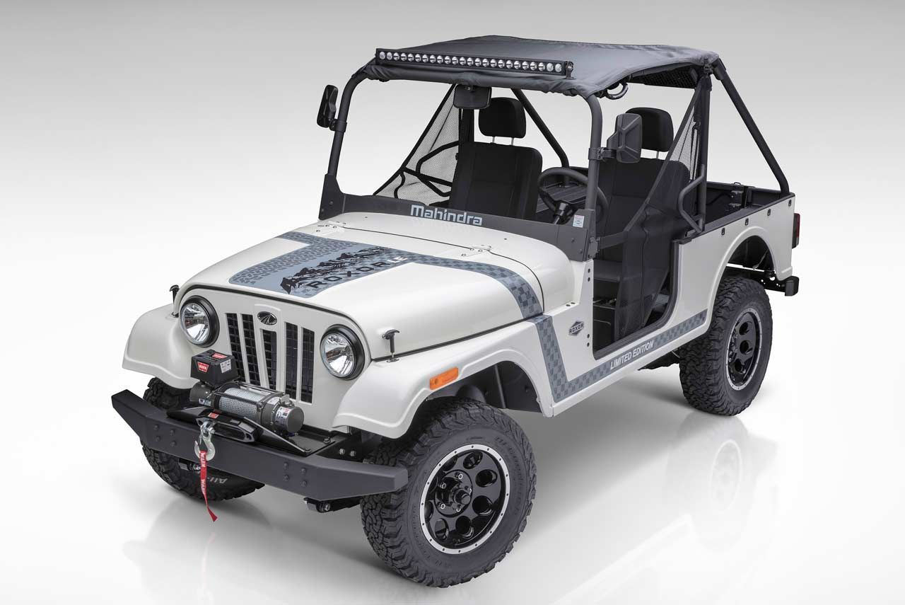 Mahindra Roxor Off Road Vehicle Unveiled In Usa Vehicles Jeep