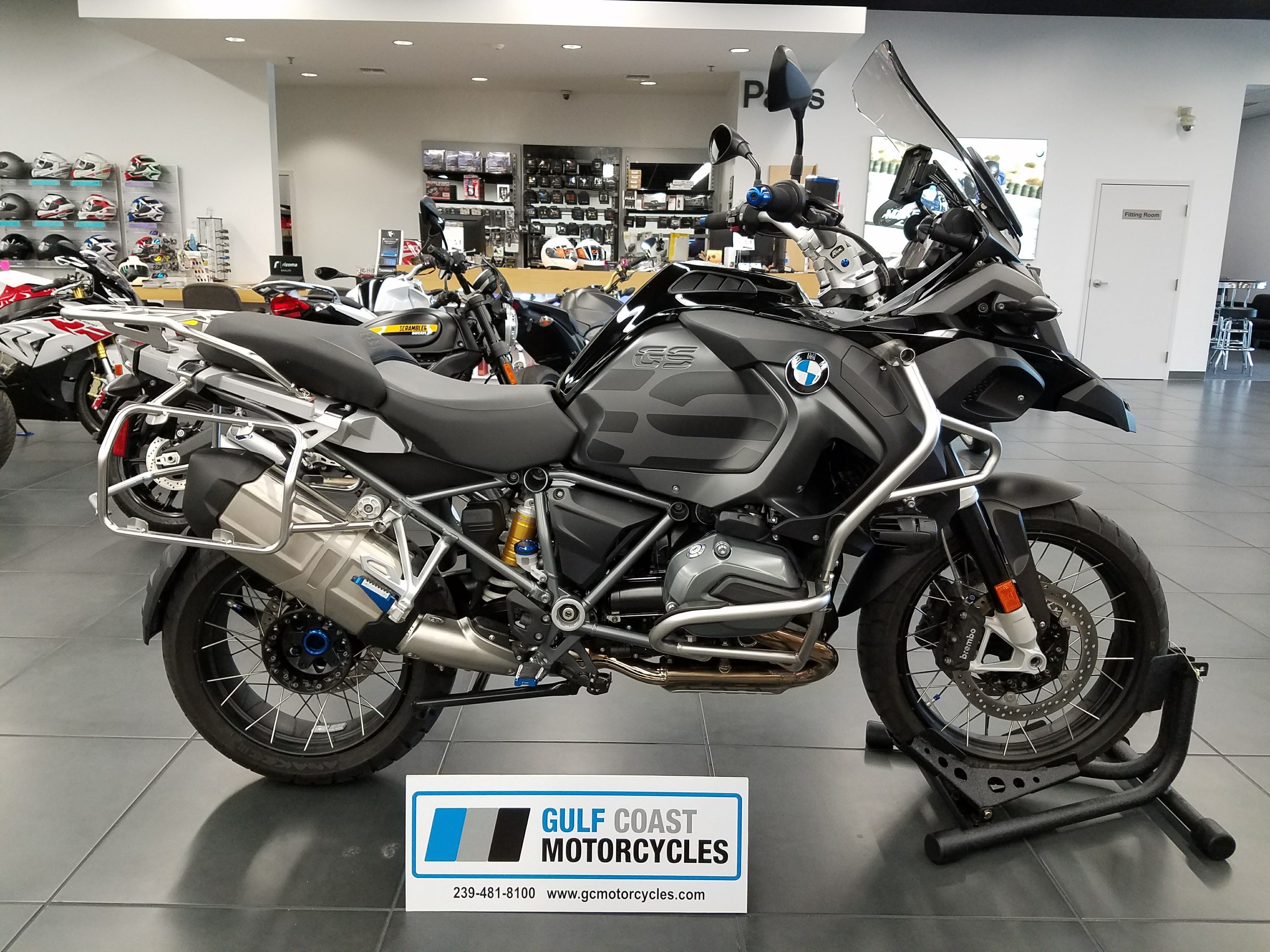 2017 bmw r 1200 gs adventure triple black price and modification