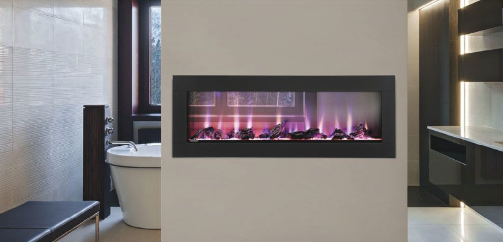 Napoleon Clearion see-through electric fireplace, best electric ...