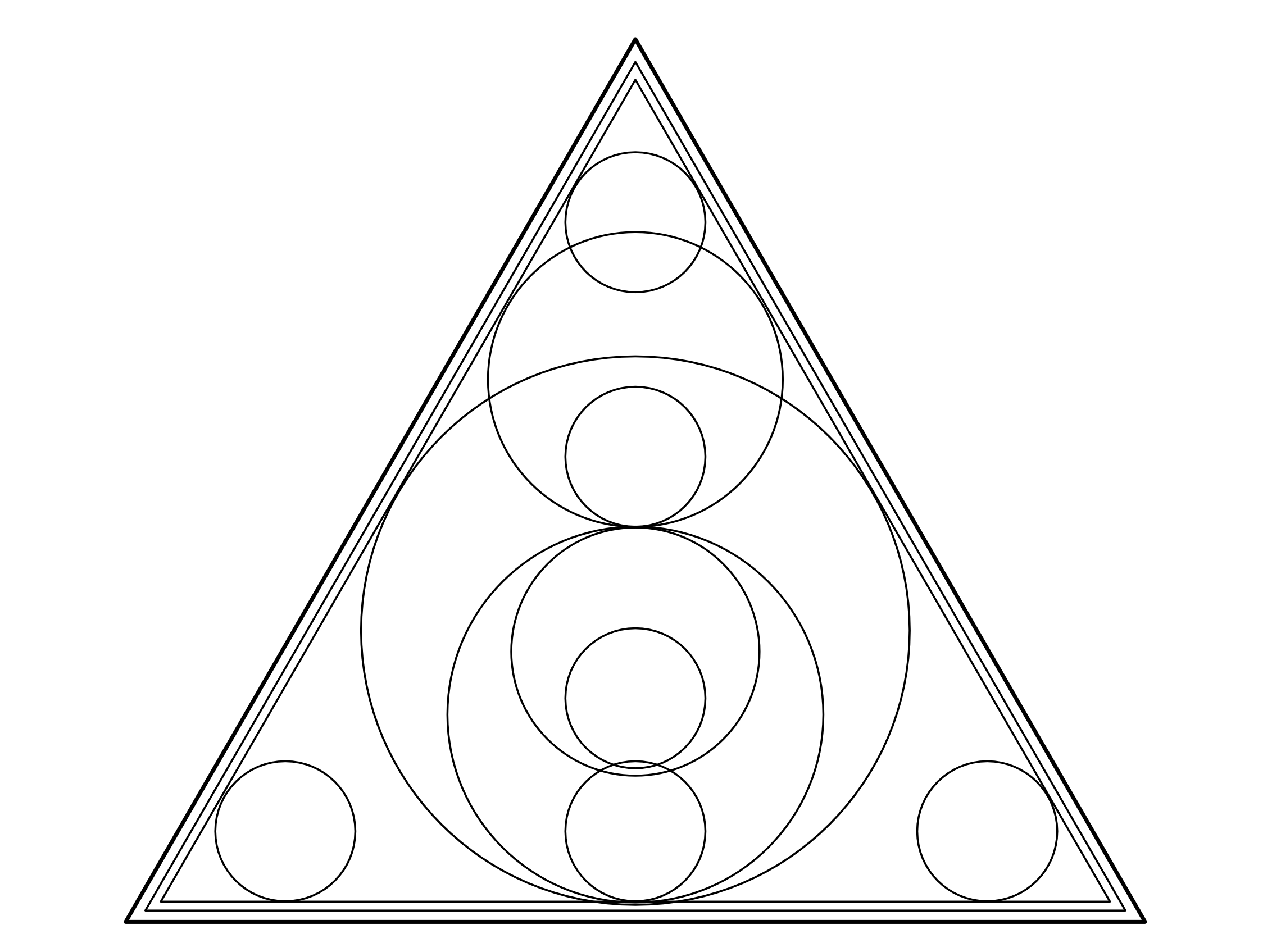 Triangle And Circles