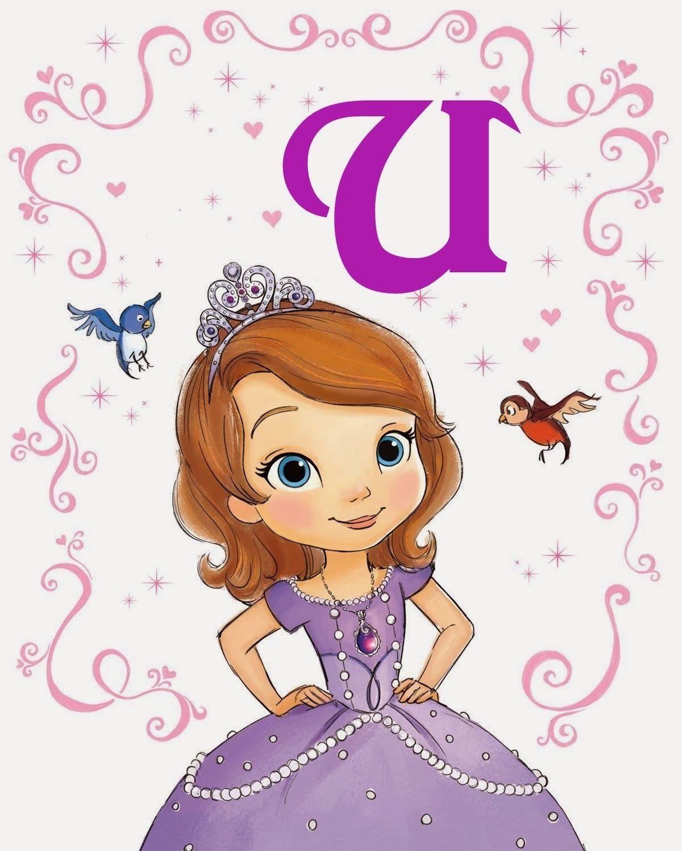Oh my Alfabetos!: Alfabeto de la Princesa Sofía.   Cosas para ...