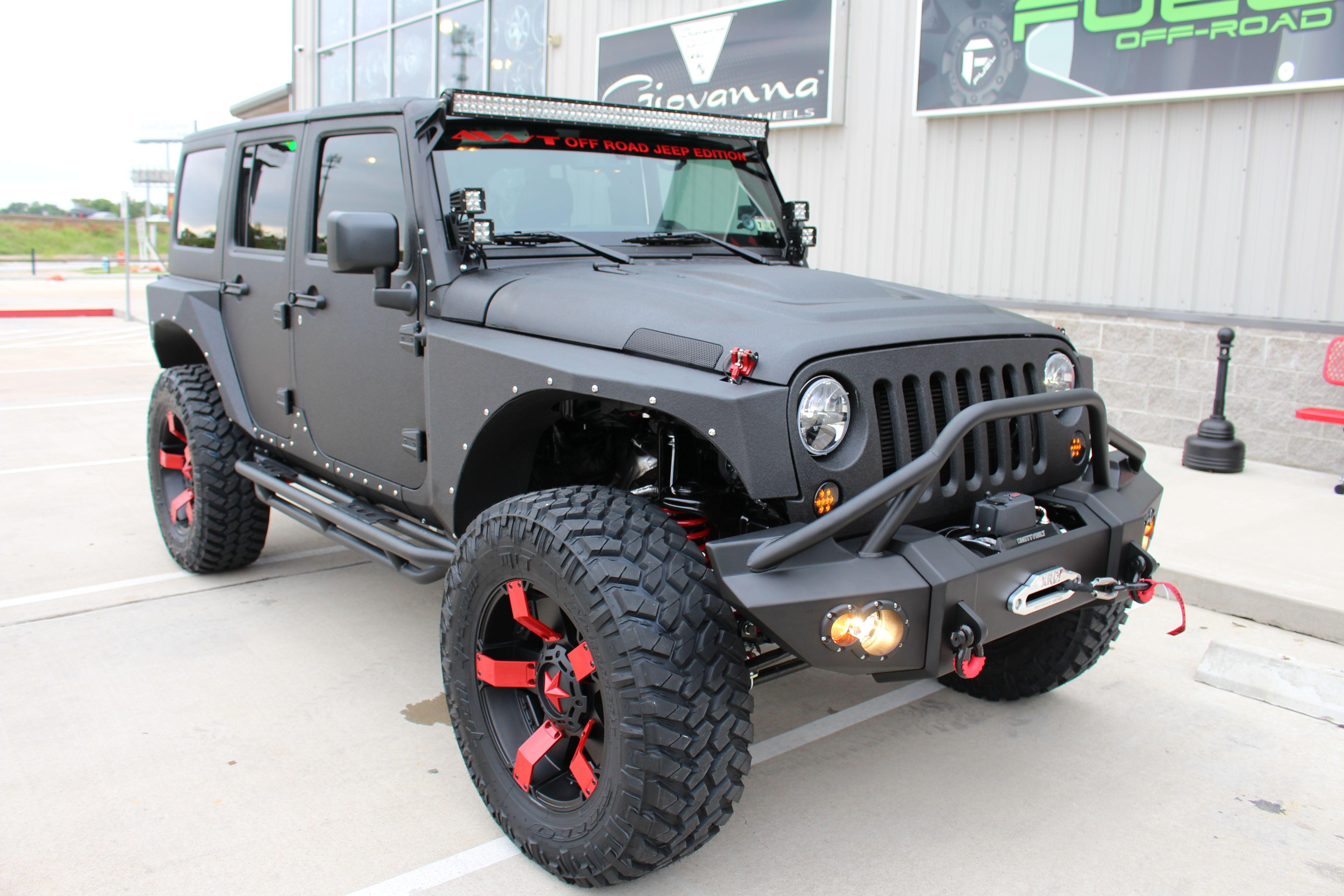 One Of Our Newest Awt Off Road Jeep Edition With Xd Series