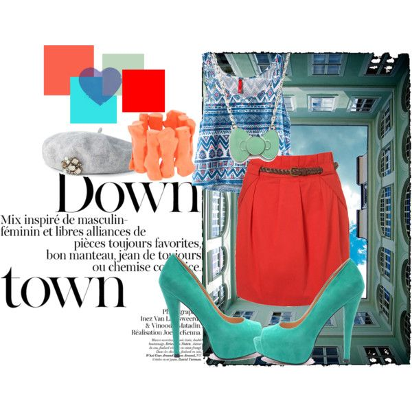 downtown :), created by beckavampire.polyvore.com