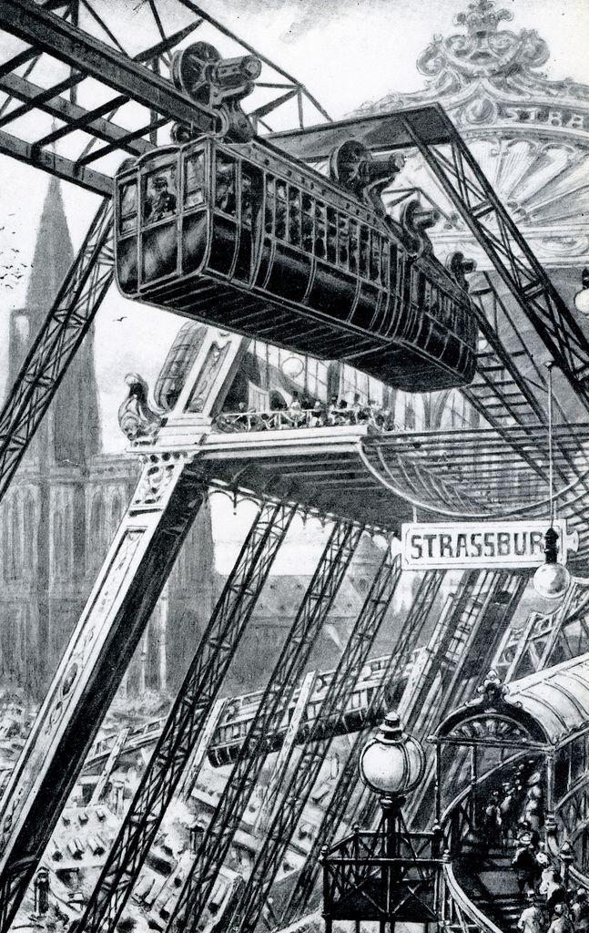 1905 aerial train