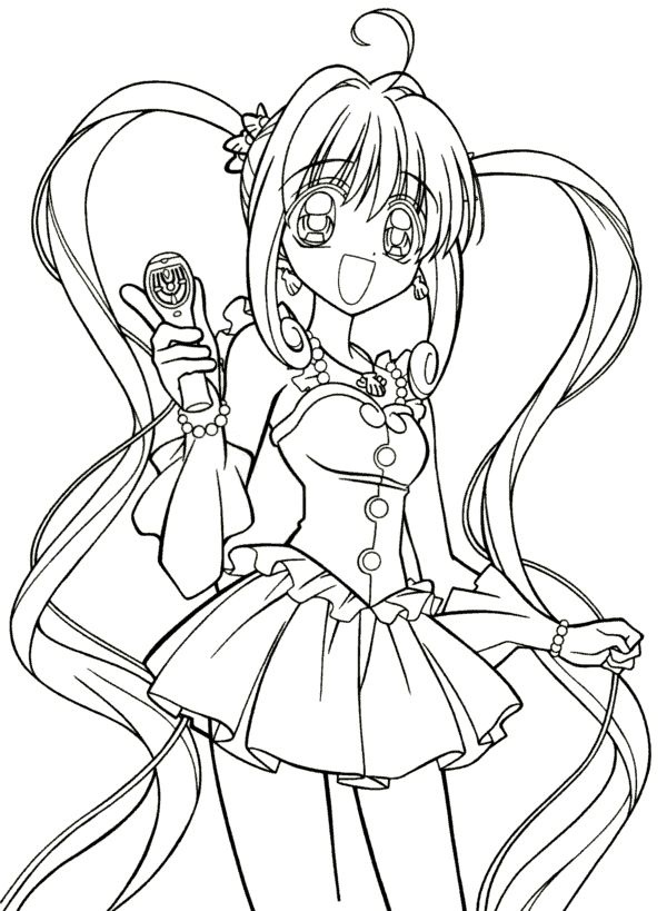 Dessin A Imprimer Manga