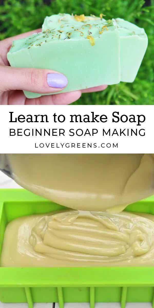 Learn to make handmade soap with Lovely Greens - Lovely Greens