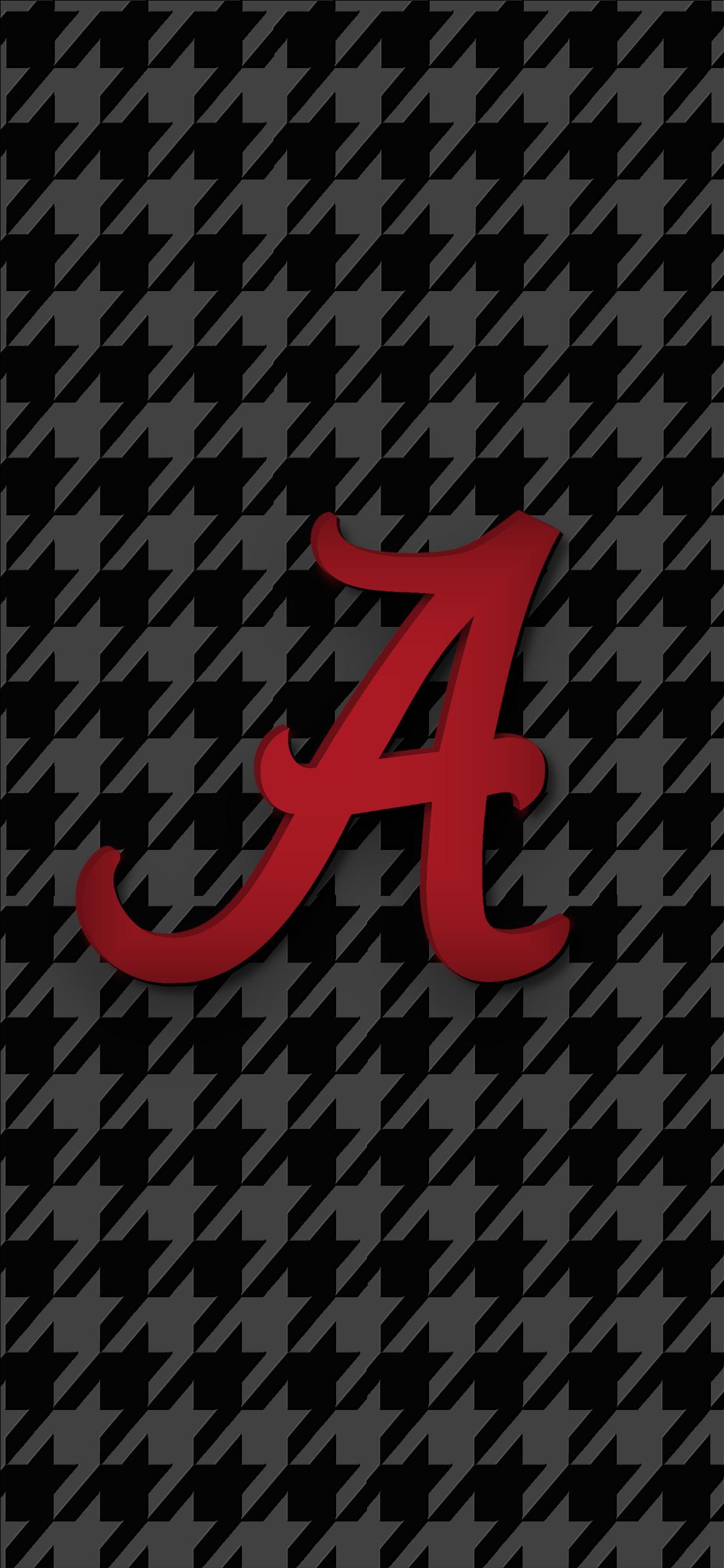 Alabama Crimson Tide Football Logo Iphone Wallpaper In 2020