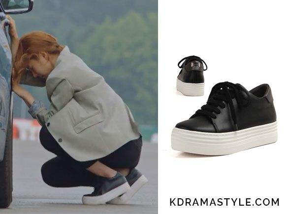 Bride of the Water God Episode 5: Yoon So Ah's Black Sneakers - KdramaStyle
