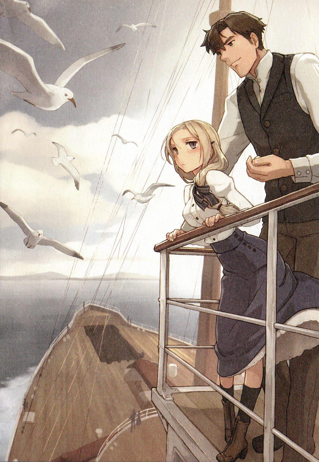 Shizuma Yoshinori, Haruka Toudo no Canaan, Ship Anime