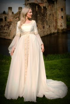 Photos and images of Victorian, Edwardian, and Regency wedding gowns - Google Search