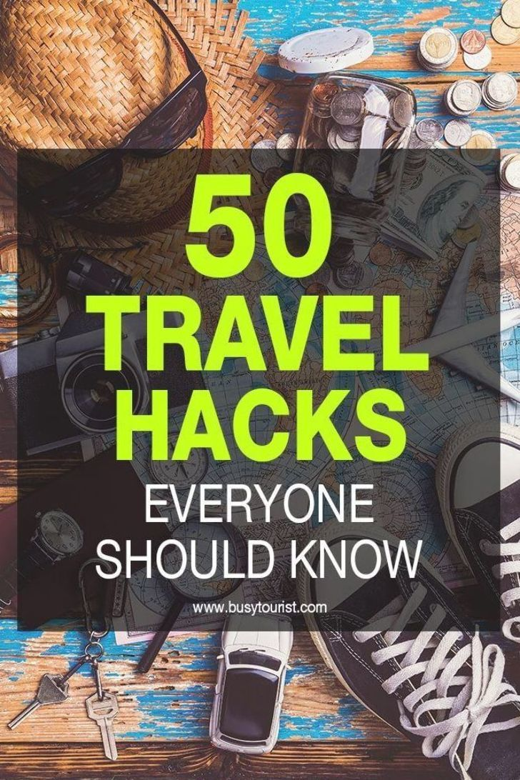 These travel hacks and tips will save you time, space and money. Be sure to follow these travel hacks before your next trip. #TravelHacks #TravelTips #Travel #TravelAdvice #TravelHack #TravelHacking #TravelingHacks
