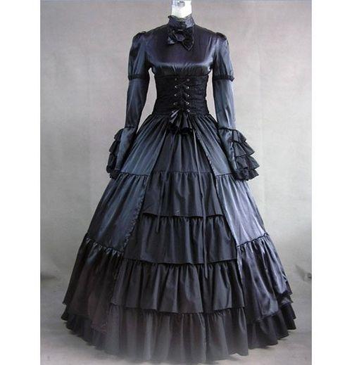 Antique Morning Attire | Dress Victorian dresses mourning dresses fashion antique pretty.
