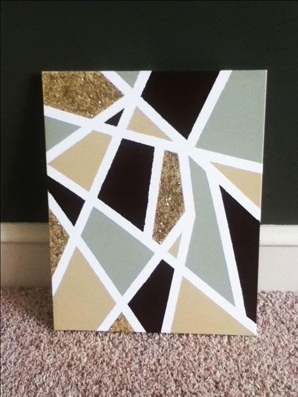 40 kreative Acrylmalideen für Anfänger - #Acrylmalideen # ...
