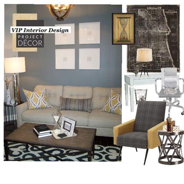 Virtual Home Decor: Virtual Interior Design: Therapy Room Of Wake Therapy