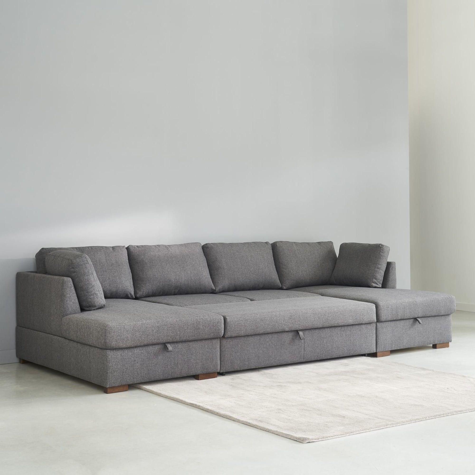 Grey 7 Seater U Shaped Sofa Bed U Shaped Sofa Bed U Shaped Sofa Sofa