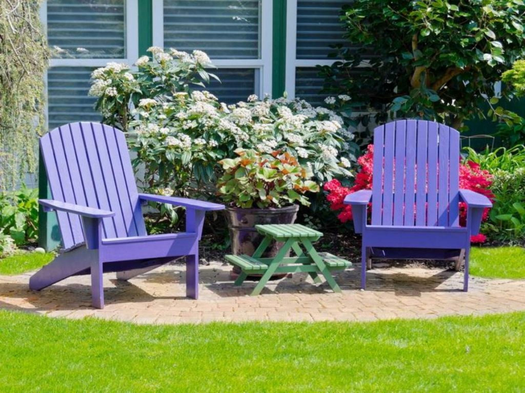 garden furniture paint colours - Garden Furniture Colours