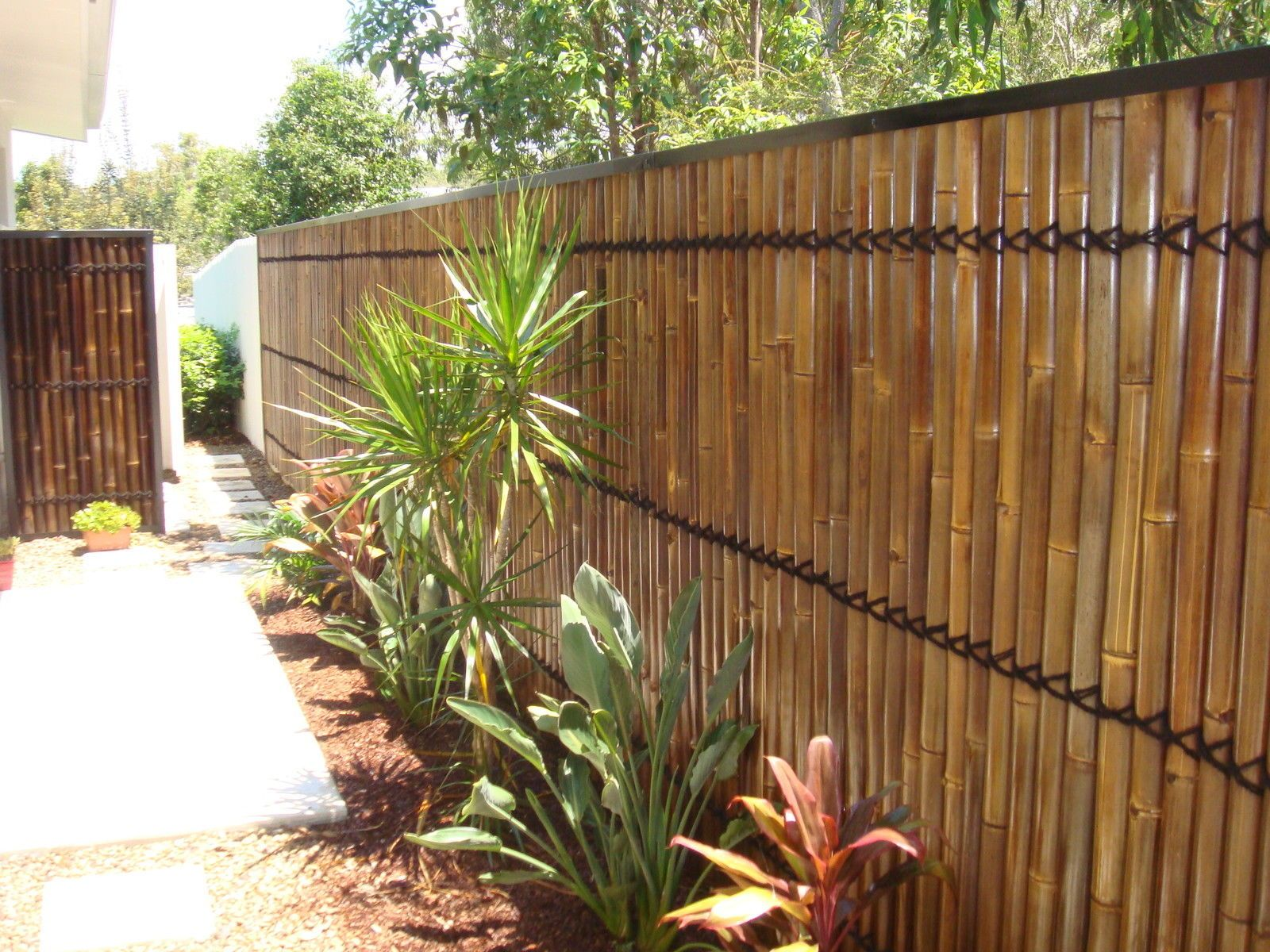 Bamboo Screen Perth Bamboo Fence Panels Bamboo Screens Bamboo Privacy Bamboo