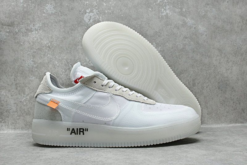 Off Off Off Blanco X Nike Air Force 1 Hombres Mujeres Zapatos Cg4qd8nl Nike Off 57efaf
