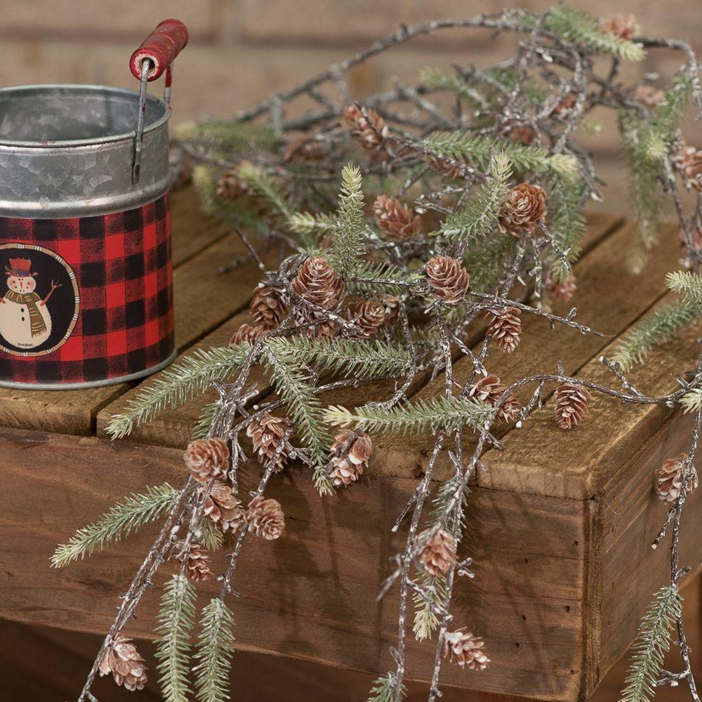 North Pole Pine Spray Christmas Decorations Christmas Home Christmas
