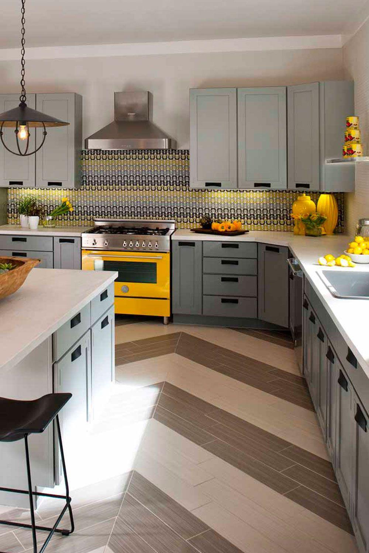 How To Brighten Up A Dark Wood Kitchen 21 Yellow Kitchen Ideas To Brighten Up Your Home Interior Design Kitchen Modern Kitchen Interiors Kitchen Interior Design Modern