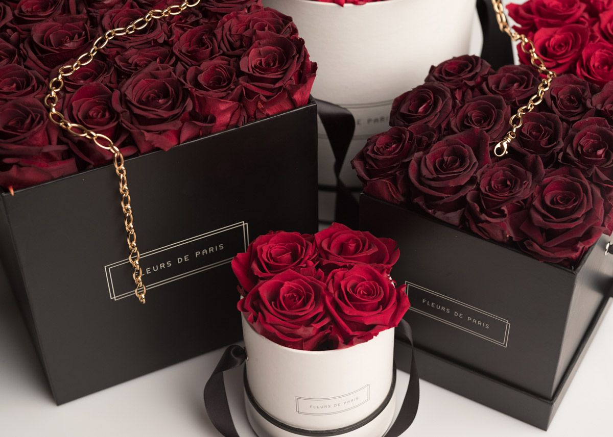 Rosenboxen Und Flowerbox Fleurs De Paris Floweyas Make Me Smile
