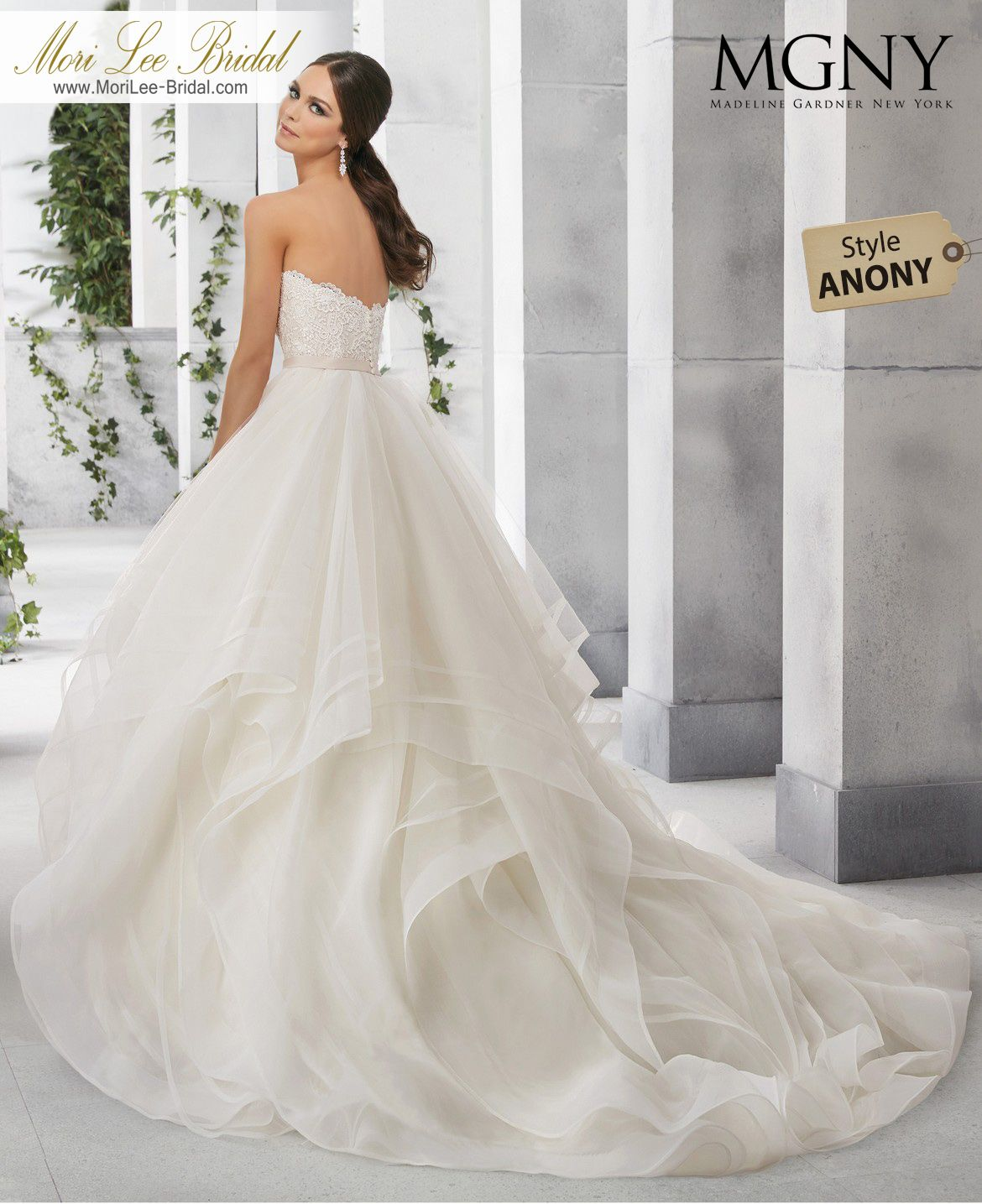 Dress style anony francoisea classic strapless vintage lace bodice