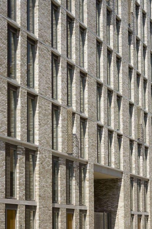 Studio Nine Dots, Amsterdam IJburg | Brick facade | Facade