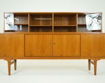 Mid Century Modern Inspired Sideboard Buffet Bar By ABTModern